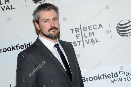"""Director Sean Mewshaw attends the Tribeca Film Festival world premiere of """"Tumbledown"""" at the BMCC Tribeca Performing Arts Center, in New York"""