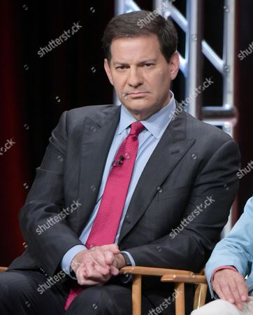 """Producer Mark Halperin participate in """"The Circus of Politics"""" panel during the Showtime Critics Association summer press tour, in Beverly Hills, Calif"""