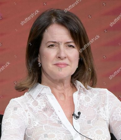 """Executive producer Michelle Ashford participate in """"Love & Marriage on TV"""" panel during the Showtime Critics Association summer press tour, in Beverly Hills, Calif"""