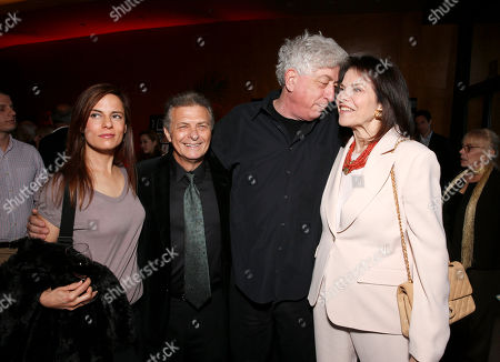 Lati Grobman, Israel Film Festival Founder/Executive Director Meir Fenigstein, Avi Lerner and Sherry Lansing attend the 27th Israel Film Festival Opening Night Gala, on Thursday, April, 18, 2013 in Beverly Hills, California
