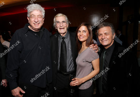 Avi Lerner, Martin Landau, Lati Grobman and Israel Film Festival Founder/Executive Director Meir Fenigstein attend the 27th Israel Film Festival Opening Night Gala, on Thursday, April, 18, 2013 in Beverly Hills, California