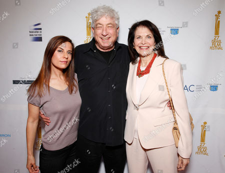 Lati Grobman, Avi Lerner and Sherry Lansing attend the 27th Israel Film Festival Opening Night Gala, on Thursday, April, 18, 2013 in Beverly Hills, California