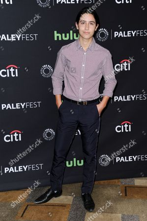 """Lorenzo James Henrie attends the 33rd Annual Paleyfest: """"Fear the Walking Dead"""" held at the Dolby Theatre, in Los Angeles"""