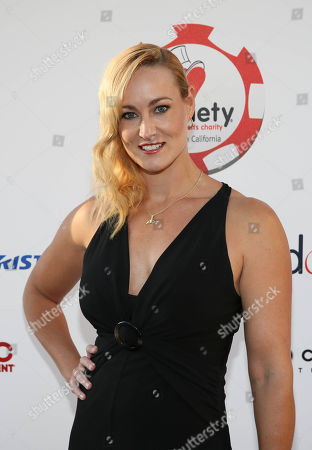 Actress Vanessa Cater arrives during the 4rd Annual Variety - The Children's Charity of Southern California Texas Hold 'Em Poker Tournament held at Paramount Studios, in Hollywood, California