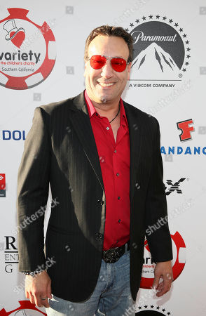 Actor Gabriel Jarret arrives during the 4rd Annual Variety - The Children's Charity of Southern California Texas Hold 'Em Poker Tournament held at Paramount Studios, in Hollywood, California