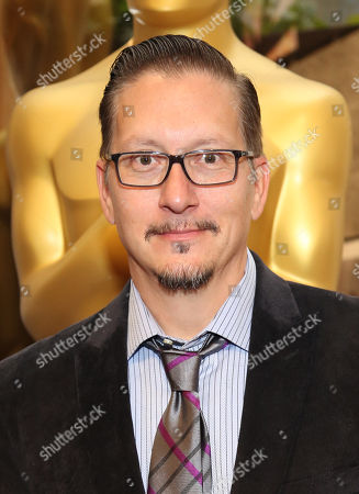 """Stock Picture of Stephen Prouty, who is nominated for an Academy Award for Best Makeup and Hairstyling for """"Jackass Presents: Bad Grandpa,"""" attends the 86th Academy Awards - Makeup and Hairstyling Reception on in Beverly Hills, Calif"""