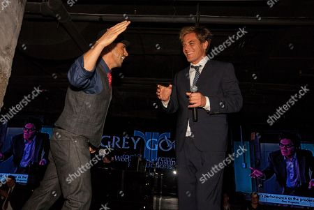 Rockit Ranch Productions CEO Billy Dec with actor and ensemble member Michael Shannon attend the A Red Orchid Theatreâ?™s 21 Annual Gala at the Underground, on in Chicago