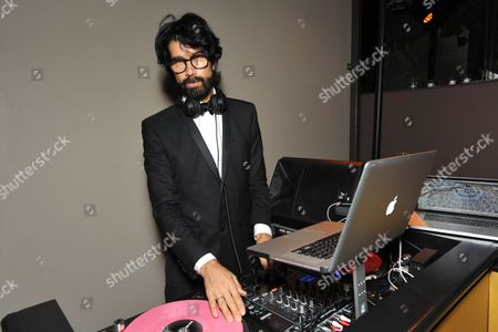 DJ Myles Hendrik attends the AMC, IFC, Sundance Channel Emmy After Party, on in West Hollywood, Calif