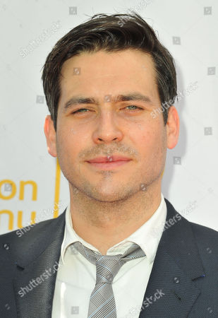 Robert James-Collier arrives at An Afternoon at Downton Abbey presented by The Television Academy at Paramount Studios, in Los Angeles