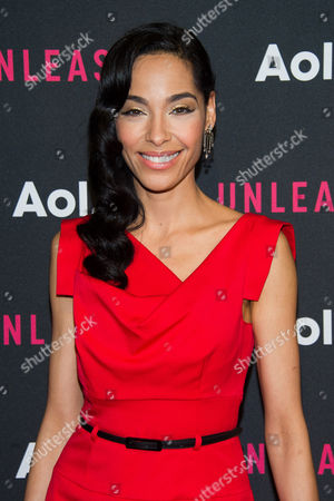 Stock Photo of Mari White attends the AOL NewFront 2015 at 4 World Trade Center, in New York