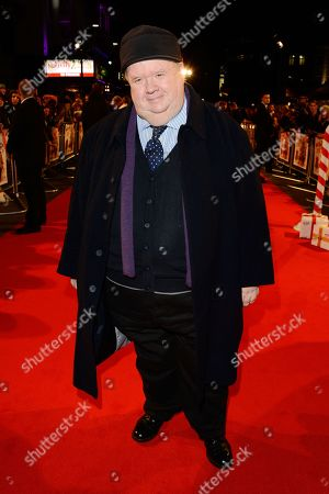 Actor Ian McNeice is seen at the UK Premiere of Nativity 2: Danger In The Manger! at The Empire Cinema, Leicester Square, in London