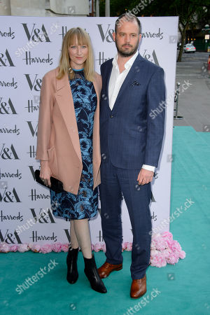 Jack Dyson and Jade Parfitt poses for photographers upon arrival for the Victoria And Albert Museum Summer Party, London, Wednesday 22 June, 2016
