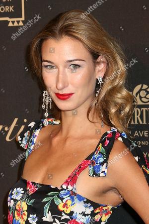 Lauren Remington Platt attends the Cartier Fifth Avenue Mansion grand reopening celebration, in New York