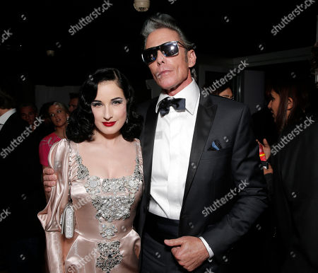 Dita Von Teese and Mark Mahoney at the Cointreau & Nikki Beach Present Dita Von Teese during the 2013 Cannes Film Festival, Nikki Beach Le Club at Les Marches, Cannes, southern France