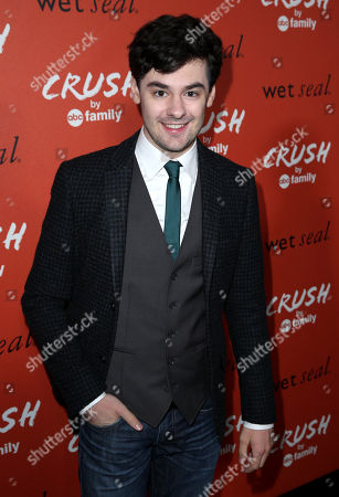 "Actor Brendan Robinson arrives at the ""Crush by ABC Family"" collection launch party hosted ABC Family and Wet Seal at The London hotel in West Hollywood, Calif. on"