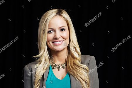 """Reality TV star of ABC's """"The Bachelorette"""" and jewelry designer, Emily Maynard, poses for a portrait, on in New York"""