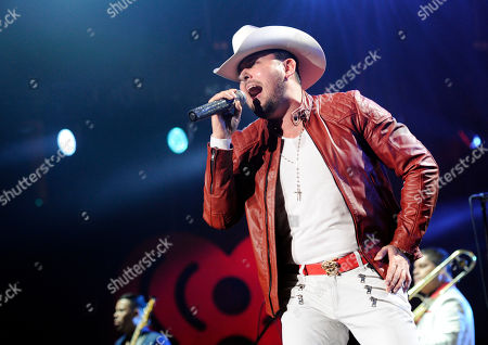 Stock Picture of Roberto Tapia performs at the iHeart Radio Fiesta Latina concert in Inglewood, Calif. The Mexican-American singer and composer Roberto Tapia will become part of Las Vegas Walk of Stars on Nov. 18, 2015.Â