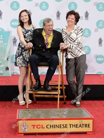 Editorial picture of Jerry Lewis Hand and Footprint Ceremony, Los Angeles, USA - 12 Apr 2014