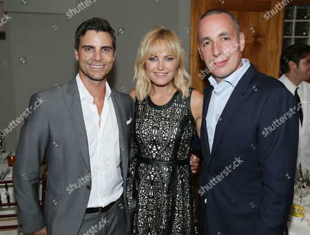 Editorial image of Justin Theroux and Dan Peres celebrate the August issue of DETAILS, West Hollywood, USA - 15 Jul 2014