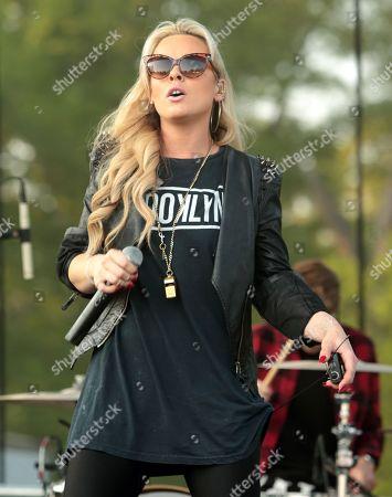 Singer-songwriter Katy Tiz performs in concert at Rockford Park, in Wilmington, Del