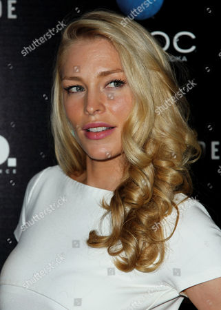 """Cynthia Kirchner arrives at the premiere of """"A.C.O.D."""" at the Landmark Theatre on in Los Angeles"""