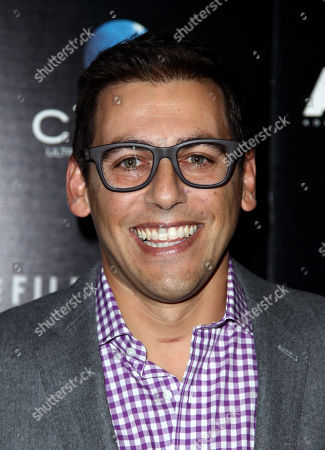 "Stu Zicherman arrives at the premiere of ""A.C.O.D."" at the Landmark Theatre on in Los Angeles"