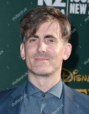 """Stock Image of Composer Daniel Hart arrives at the Los Angeles premiere of """"Pete's Dragon"""" at the El Capitan Theatre on"""