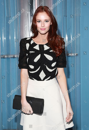 Alyssa Campanella seen at Carolina Herrera at Lincoln Center, in New York