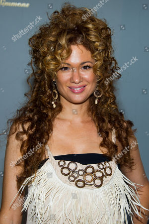 Miri Ben-Ari attends the Argylecuture by Russell Simmons Spring 2015 collection show during Fashion Week on in New York