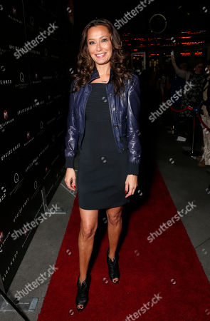 Stock Photo of Sky Nellor attends Millennium Entertainment's Upside Down Los Angeles Premiere hosted by Quintessentially at Arclight Hollywood on in Los Angeles