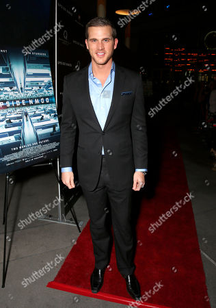 Matt Nordgren attends Millennium Entertainment's Upside Down Los Angeles Premiere hosted by Quintessentially at Arclight Hollywood on in Los Angeles
