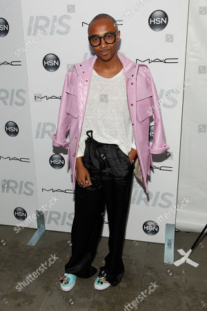 "Stock Picture of Jerome LaMaar attends the premiere of ""Iris"" at the Paris Theatre, in New York"
