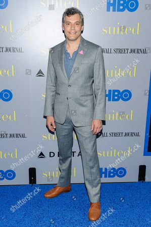 """Stock Picture of Jason Benjamin attends the premiere of HBO Documentary Films' """"Suited"""", at BAM Rose Cinemas, in New York"""