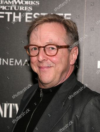 """Actor Edward Hibbert attends a screening of """"The Fifth Estate"""" hosted by the the Cinema Society with Vanity Fair & Richard Mille on in New York"""