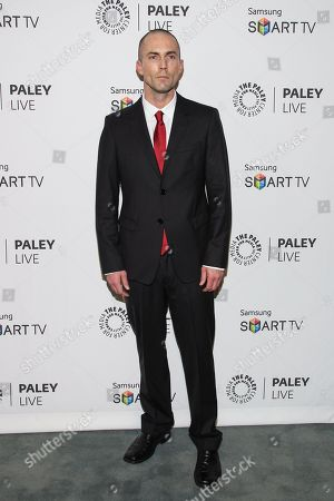 """Actor Desmond Harrington arrives at the PaleyFest Previews Fall TV Farewell to """"Dexter"""" at The Paley Center for Media on in Beverly hills, Calif"""