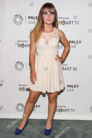 """Actress Christina Robinson arrives at the PaleyFest Previews Fall TV Farewell to """"Dexter"""" at The Paley Center for Media on in Beverly hills, Calif"""