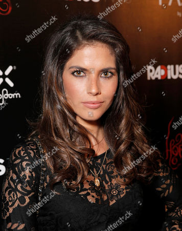 """Weronika Rosati attends a special screening of Radius-TWC's """"Horns"""" presented by PAX by Ploom at ArcLight Hollywood on in Hollywood, Calif"""
