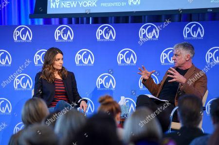 Tina Fey and John Lyons at Produced By: New York 2016 at the Time Warner Center on Saturday, October 29th, 2016, in New York City, NY