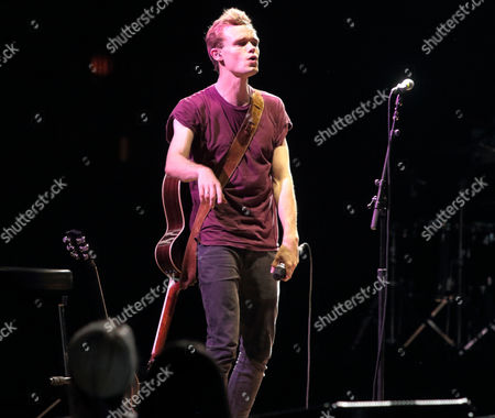 James TW performs in concert as the opening act for Shawn Mendes during his Shawn Mendes World Tour at The Mann Center for the Performing Arts, in Philadelphia