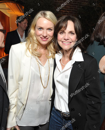 Naomi Watts, left, and Sally Field attend The Hollywood Reporter Nominees' Night at Spago, in Beverly Hills, Calif