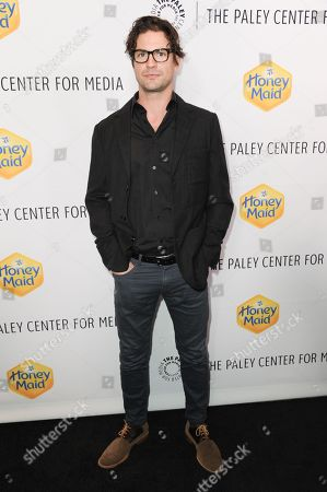 Gale Harold arrives at The Paley Center For Media Los Angeles Benefit Gala, in Los Angeles