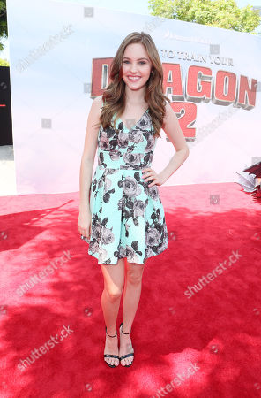 Ella Wahlestedt seen at the Twentieth Century Fox and DreamWorks Animation Los Angeles Premiere of 'How to Train Your Dragon 2', in Westwood, Calif