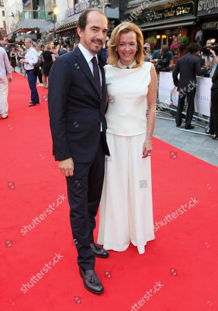 Alexis Veller and Caroline Scheufele arrive at the World Premiere of 'Diana',, in London