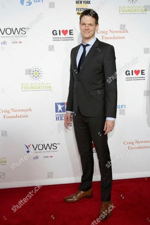 Jon Beavers attends the 11th Annual Stand Up for Heroes benefit, presented by the New York Comedy Festival and The Bob Woodruff Foundation, at the Theater at Madison Square Garden, in New York