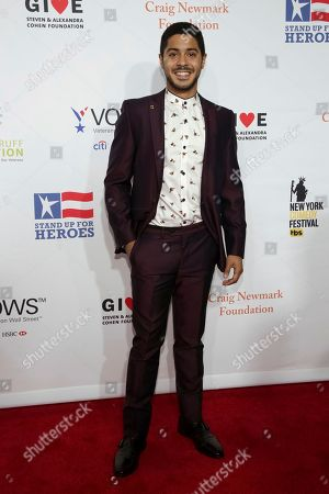 Ian Quinlan attends the 11th Annual Stand Up for Heroes benefit, presented by the New York Comedy Festival and The Bob Woodruff Foundation, at the Theater at Madison Square Garden, in New York