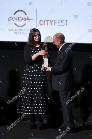 Editorial image of Virna Lisi Prize, Rome, Italy - 07 Nov 2017
