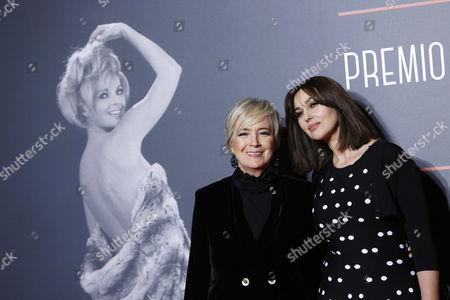 President of Foundation Cinema per Roma Piera Detassis, Monica Bellucci