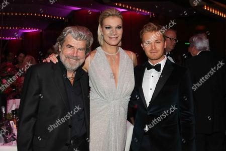 Reinhold Messner, Maria Hoefl-Riesch, Nico Rosberg