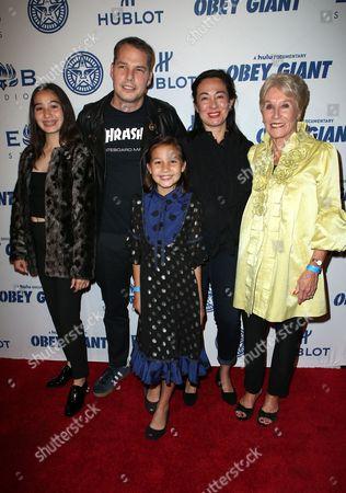 Amanda Fairey, Shepard Fairey, Guests
