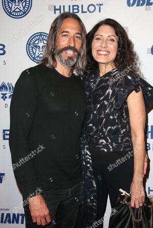 Lisa Edelstein, Robert Russell